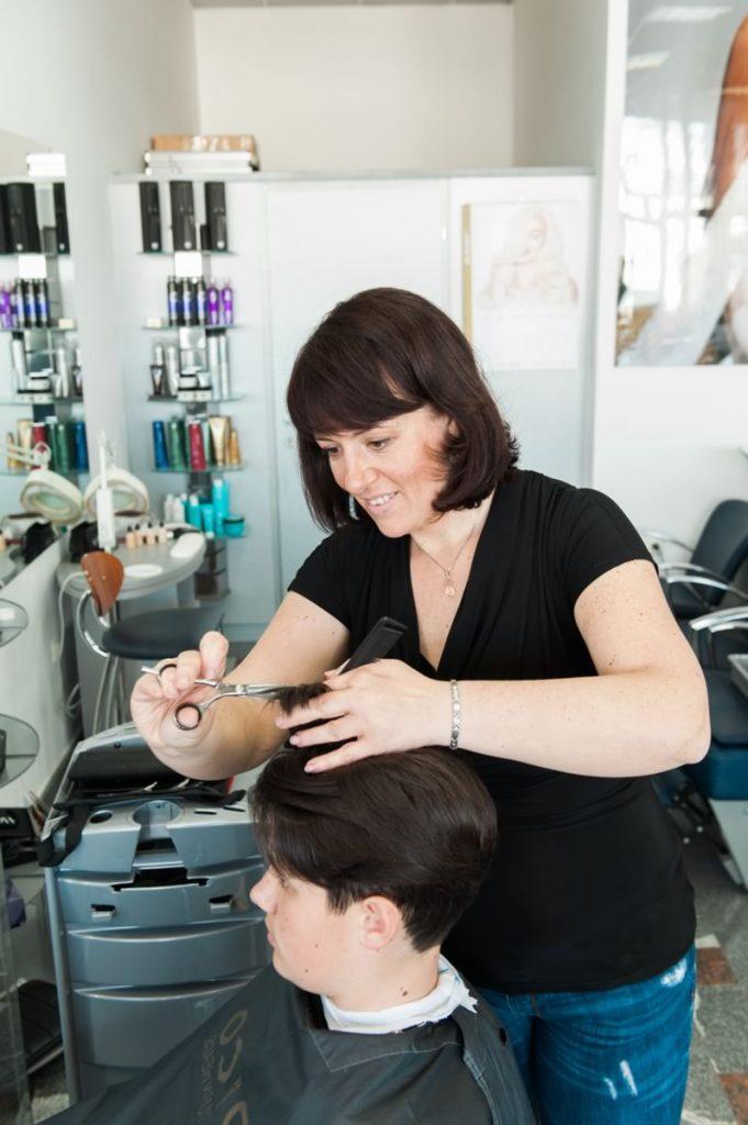 Mladinske frizure frizerstvo V-Studio